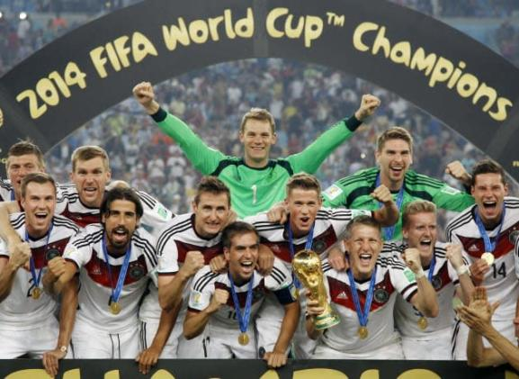 Apparently, the internet loved the 2014 World Cup final