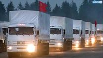 Ukraine-bound Russian Convoy Stuck Amid Bickering