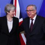 "EU's Juncker ""not very optimistic"" about Brexit deal"