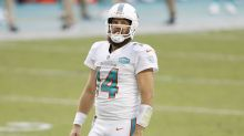 Ryan Fitzpatrick on the Dolphins benching him for Tua: 'It broke my heart'