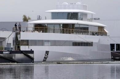 Designer has Steve Jobs' yacht impounded over unpaid bill