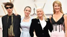 Laura Dern Brings Her Kids and Mom Diane Ladd to the 2020 Oscars