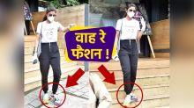 Shilpa Shetty different colour shoe fashion will shock you