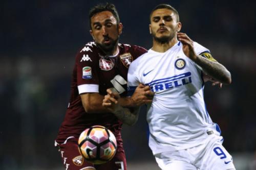 Hart falha duas vezes, mas Torino empata com a Inter de Milão