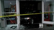 Man Rams Stolen $100K BMW Through SF Showroom Windows; Later Arrested In Domestic Dispute