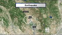 Magnitude 4.1 Earthquake Strikes North Of Napa