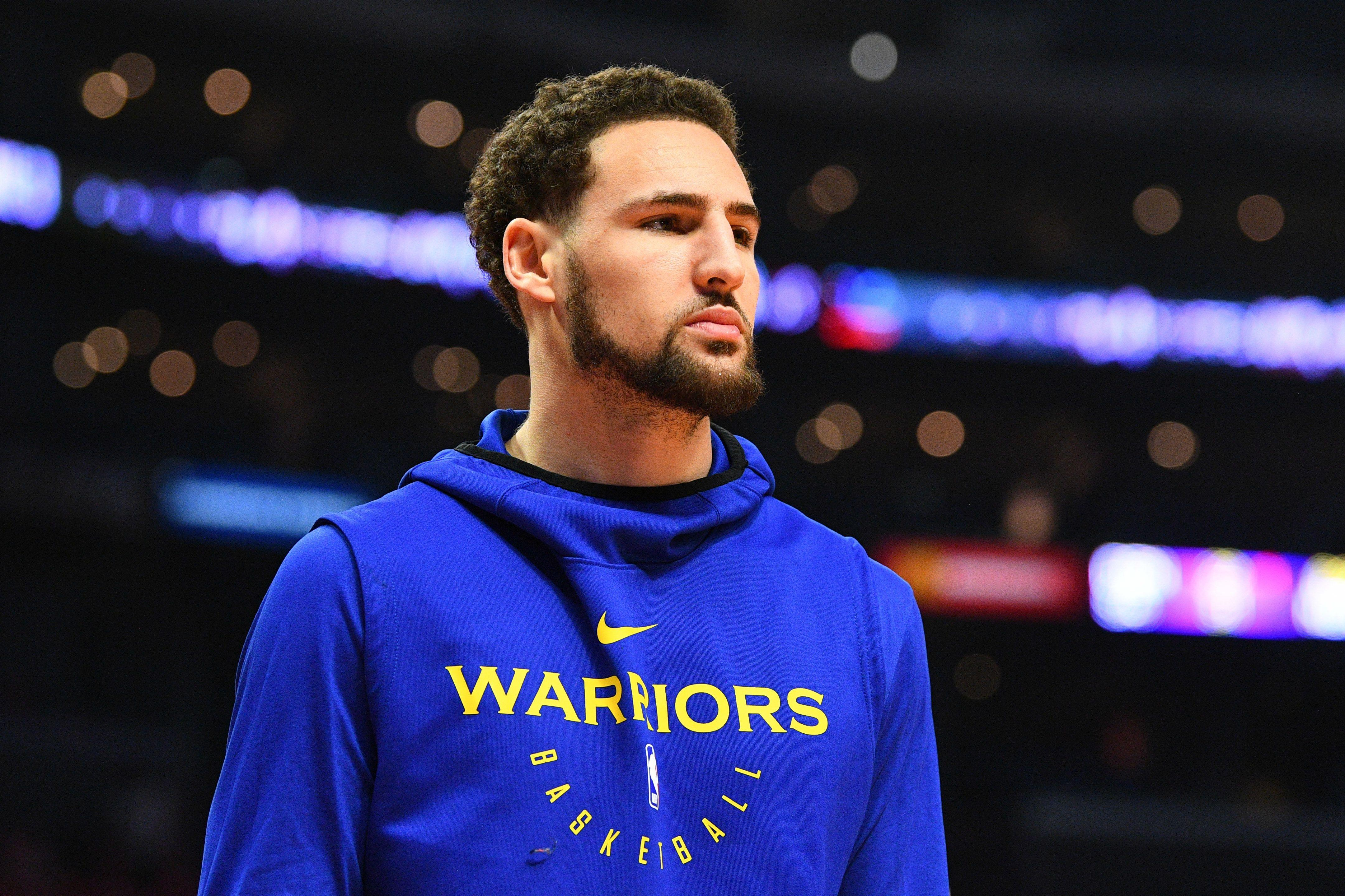 Klay Thompson jumped into the ocean to 'get right' before Game 4