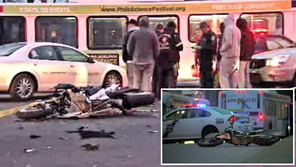 Motorcyclists killed minutes apart in separate accidents in Parkside