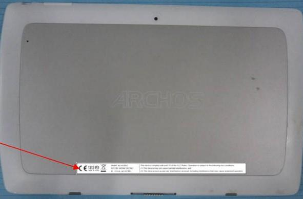 Archos 101 XS 2 tablet appears at the FCC, adds a rear camera