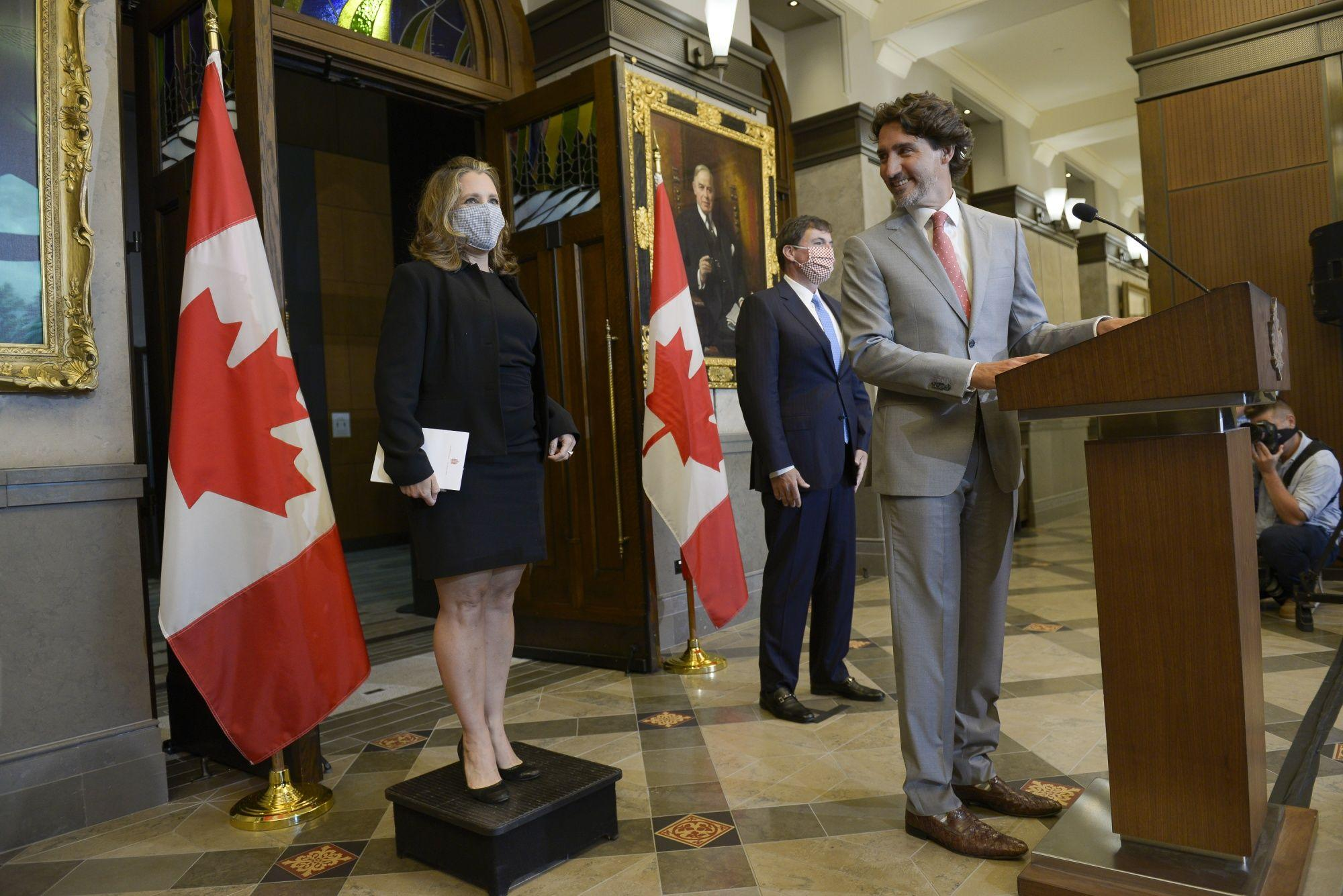 Trudeau Is Preparing to Test Limits of Debt-Financed Spending  image