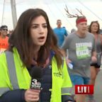 Runner Who Smacked TV News Reporter's Butt Arrested, Faces Sexual Battery Charge