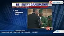Inmates ready to graduate from the Southeast Regional Re-entry Center