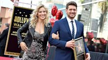 Michael Bublé Accepts Star on Hollywood Walk of Fame Alongside Tearful Wife Luisana Lopilato