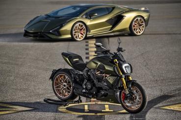 Lamborghini與Ducati合作推出兩輪聯名車款 設計靈感來自Sián FKP 37