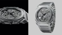 Bulgari Made The Thinnest Tourbillon Watch In The World. Then, It Made It Thinner