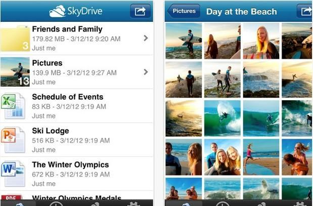 Microsoft updates SkyDrive for iOS to v3.0, touts support for more devices and revamped user experience