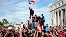 Ricky Martin joins Puerto Rico protests as governor faces mounting calls to resign