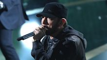 Eminem apologizes to Rihanna 'for the song that leaked' in surprise album 'Music to Be Murdered By'
