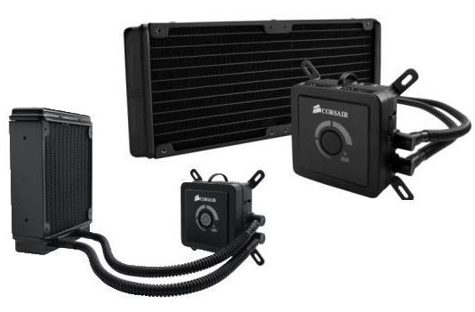 Corsair's Sandy Bridge E-compatible liquid coolers get plumbed in and tested