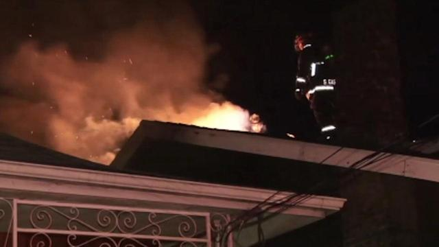 Suspicious fire damages hospital offices in Oakland