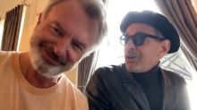 Musical jurásico: Sam Neill y Jeff Goldblum cantan juntos durante el rodaje de 'Jurassic World: Dominion'