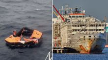 Third crew member rescued from capsized ship, second Aussie identified