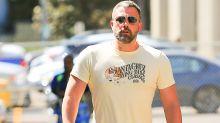 Tras su tercera rehabilitación, Ben Affleck aparece con un cuerpo saludable y musculoso