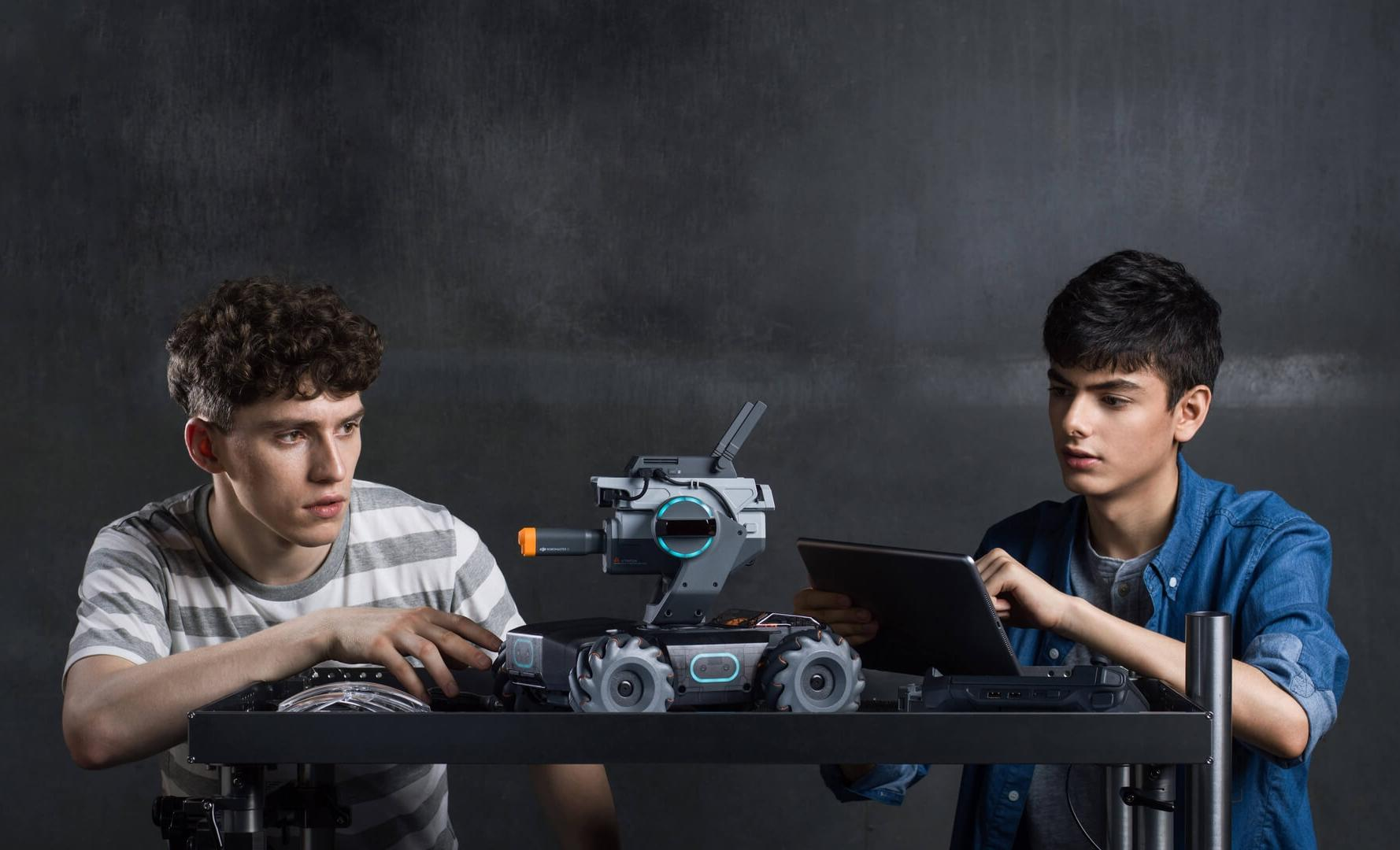 DJI launches its first programmable teaching robot