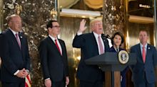 Trump's crisis spurs talk of White House departures
