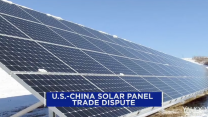 Solar panels heat up trade dispute between the U.S. and China