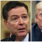 Trump denies firing Comey over Russia probe
