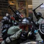 Chinese state media praises Hong Kong police 'restraint'