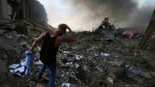 Apocalyptic scenes as blasts ravage Beirut