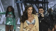 Irina Shayk Reportedly Is Pregnant and Walked the Victoria's Secret Runway in Lingerie