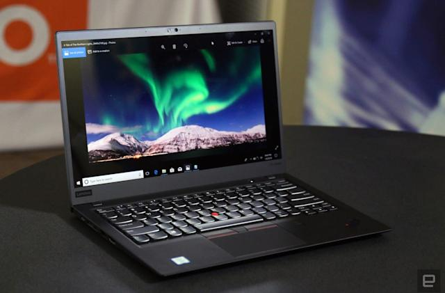 Lenovo Thinkpad X1 hands-on: A meatier, more useful update
