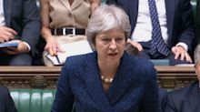 Theresa May defies warnings her Brexit plans will be 'voted down by 100 MPs', saying she'll publish White Paper on Thursday