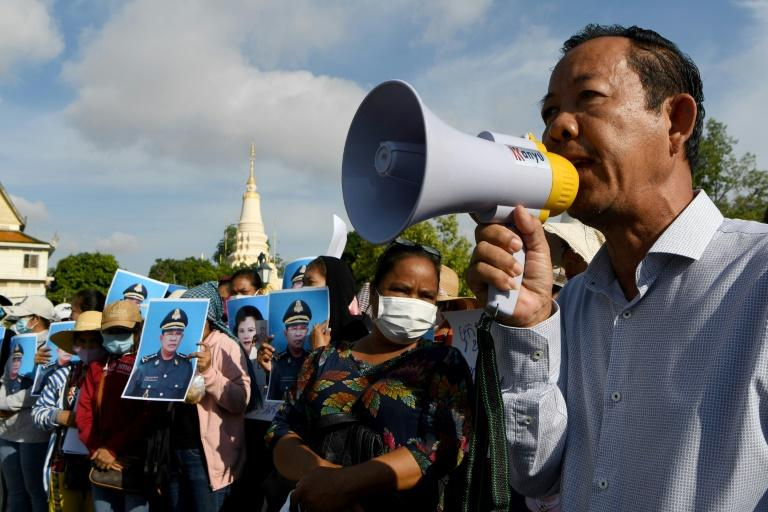 Union leader Rong Chhun had accused the government of 'irregularities' at the border with Vietnam, which he said caused locals to lose their farmland