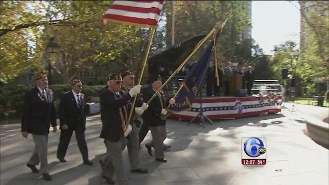 Veterans Day observances around the region