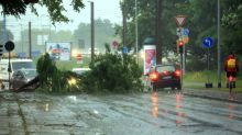One dead as rain storms lash Germany, spark rail chaos