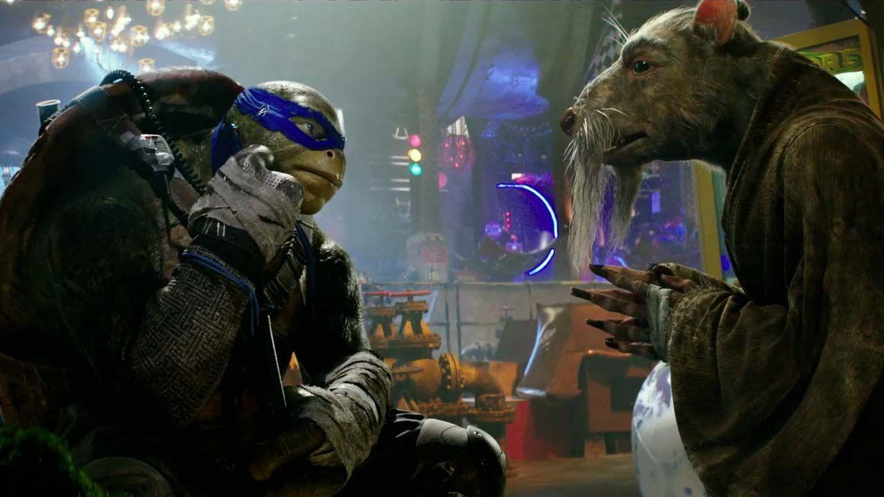 the teenage mutant ninja turtles confront the purple ooze in new