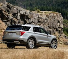 Photos of the 2020 Ford Explorer