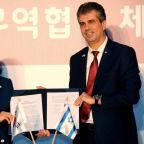 Israel, South Korea announce free trade deal