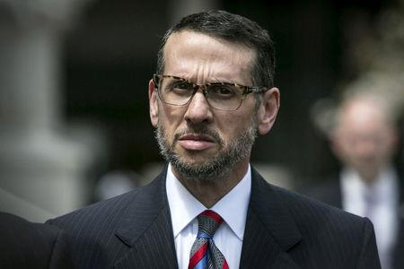 FILE PHOTO - David Wildstein exits the U.S. District Court in Newark, New Jersey, U.S. on May 1, 2015. REUTERS/Andrew Kelly/File Photo