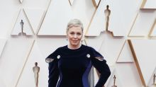 Olivia Colman sports new-look platinum blonde pixie crop at Oscars