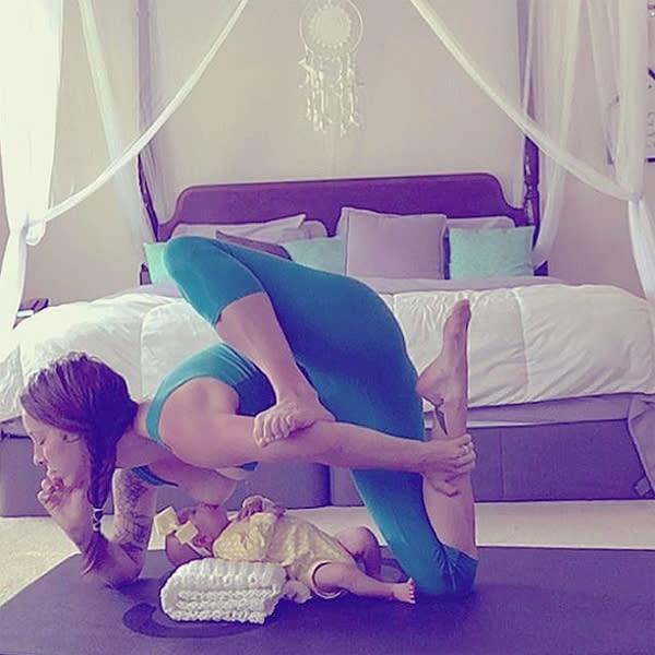 Naked Breast-feeding Yoga Mom, Husband Speak Out -- The Cut
