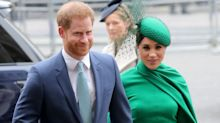Prince Harry holds UK meetings as Meghan jets back to Canada