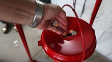'I've never had anybody do this': Coin worth $1,300 dropped in Salvation Army Red Kettle