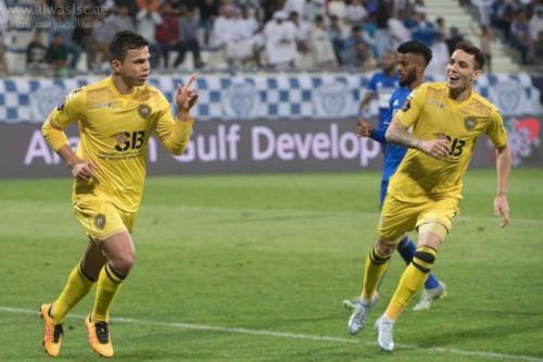 Nos Emirados, dupla de brasileiros celebra vaga na Champions da Ásia