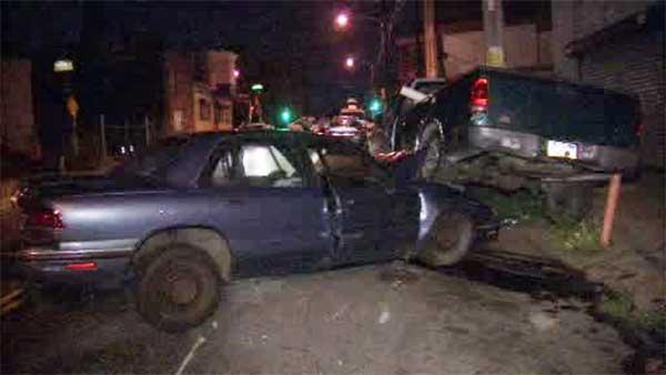North Philadelphia street turned into bumper car alley