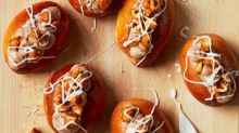 Liam Charles' recipe for hazelnut and grapefruit zest buns